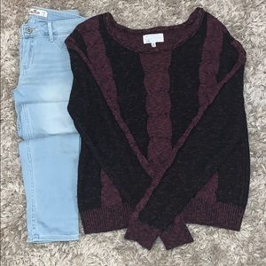 Kendall plus Kylie knitted sweater
